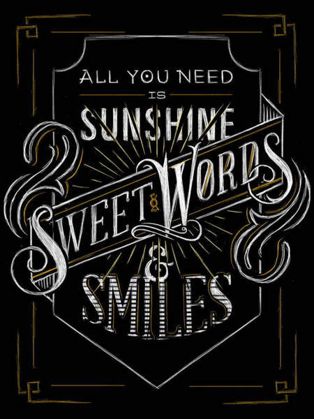 Sunshine Digital Art - All You Need Is Sunshine by Alastor Greaves