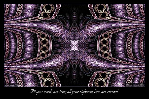 Digital Art - All Your Words by Missy Gainer