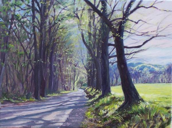 Wall Art - Painting - Alleghany Spring by Bonnie Mason