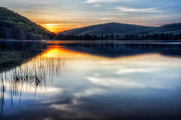 Allegheny Mountains Wall Art - Photograph - Allegheny Sunset by Mark Papke
