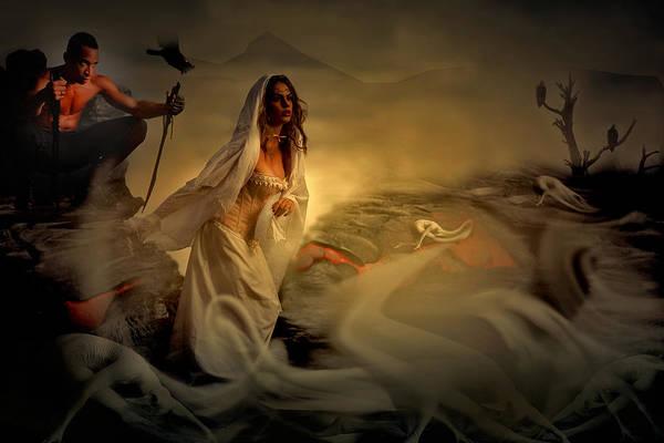 Allegory Fantasy Art Art Print