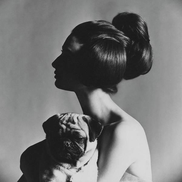 Pet Portraits Photograph - Allegra Caracciolo Di Castagneto by Karen Radkai