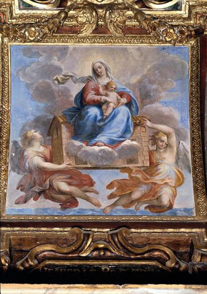 Wall Art - Photograph - Allegrini Francesco, Madonna Of Loreto by Everett