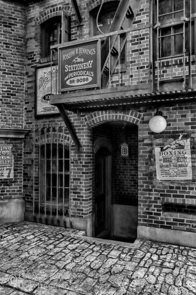 Photograph - Alley - Bw by Christopher Holmes