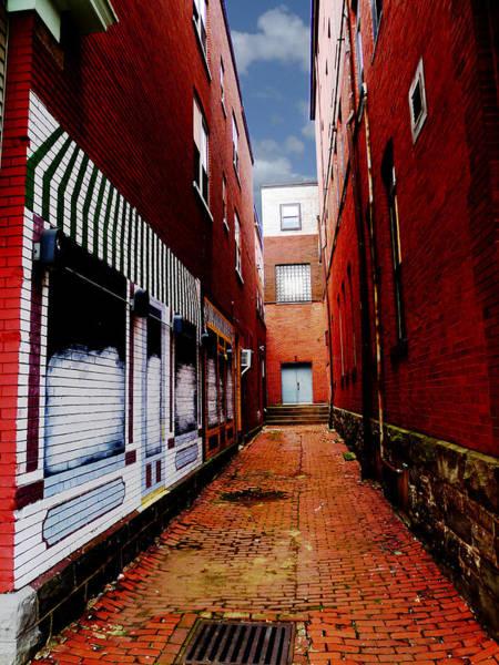 Photograph - Alleyway Door by Richard Reeve