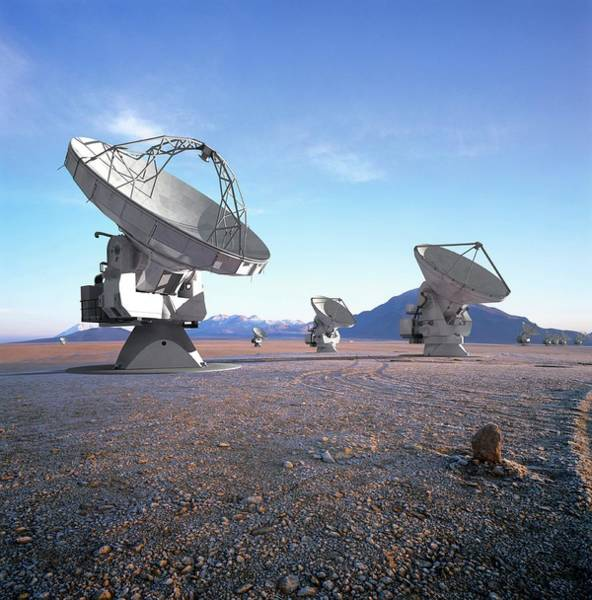 Wall Art - Photograph - Alma Radio Astronomy Observatory by European Southern Observatory/science Photo Library