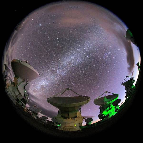 Wall Art - Photograph - Alma Telescopes by Babak Tafreshi/science Photo Library