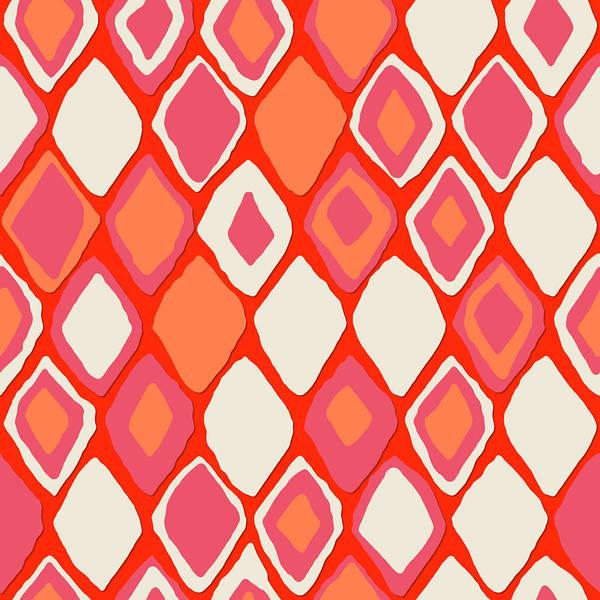 Wall Art - Drawing - Almas Diamond Fire by MGL Meiklejohn Graphics Licensing