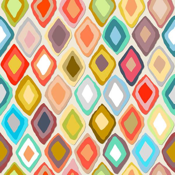 Wall Art - Drawing - Almas Diamond Light by MGL Meiklejohn Graphics Licensing