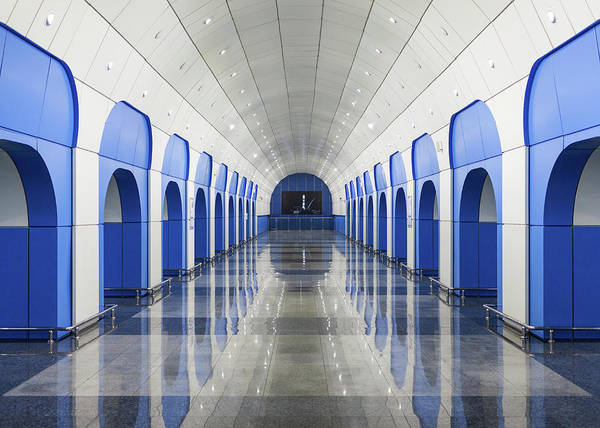 Wall Art - Photograph - Almaty, Kazakhstan Baikonur Metro by Eric Gregory Powell