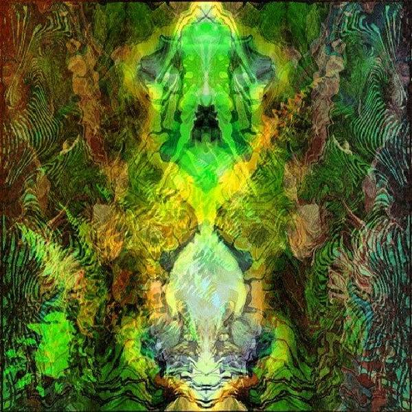 Fractal Wall Art - Photograph - 'almighy Ancient Elder' #digitalart by King Da Ling