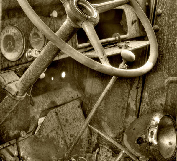 Photograph - Almost Gone Sepia by Thomas Young
