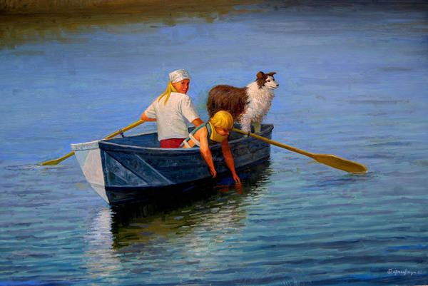 Painting - Almost Home by Mel Greifinger