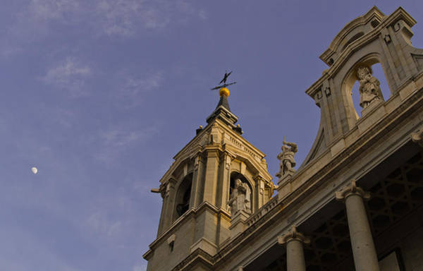 Photograph - Almudena Cathedral by Pablo Lopez