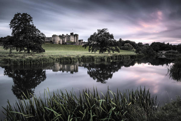 Alnwick Castle Sunset Art Print