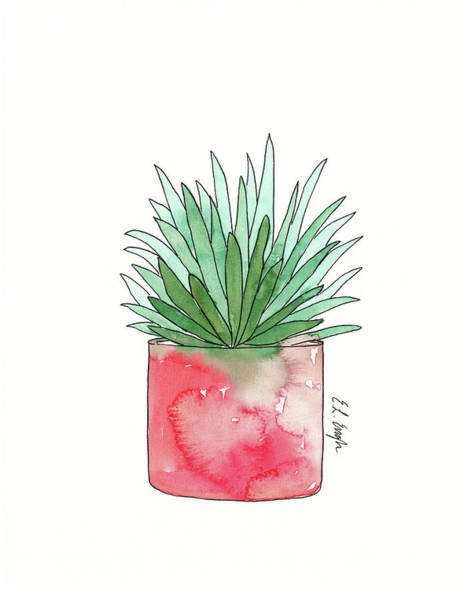 Wall Art - Painting - Aloe by Elise Engh
