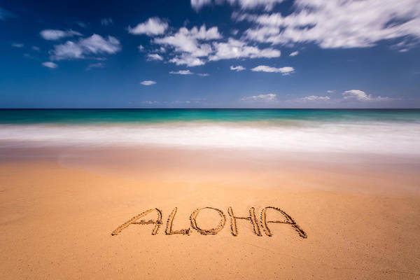 Photograph - Aloha by Pierre Leclerc Photography