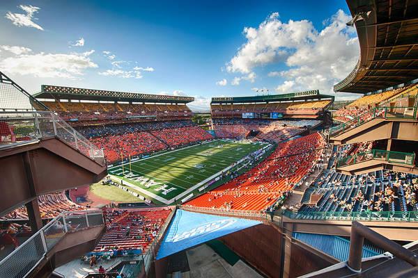 Photograph - Aloha Stadium #2 by Dan McManus