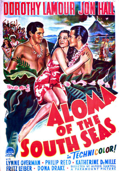Wall Art - Photograph - Aloma Of The South Seas, Us Poster by Everett