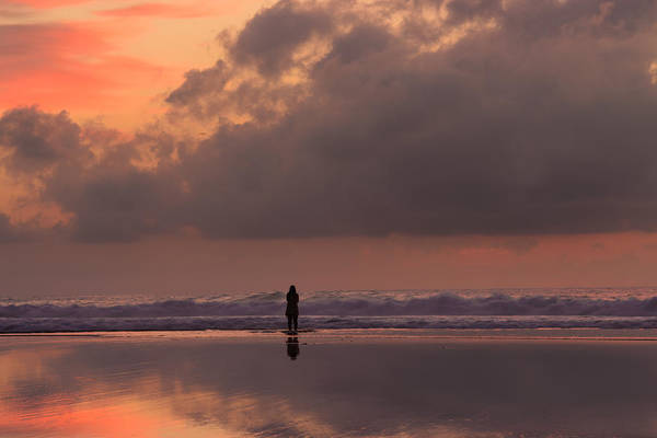 Spiritual Bliss Wall Art - Photograph - Alone At Sunset I by Marco Oliveira