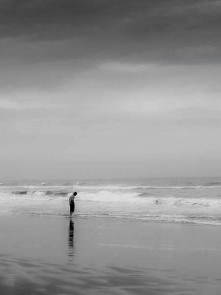 Photograph - Alone By The Sea by Jim DeLillo