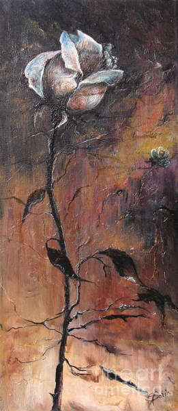 Painting - Alone In The Night  by Sorin Apostolescu