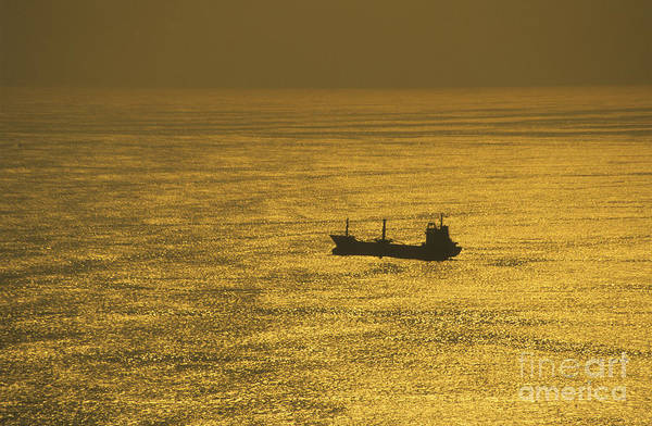 Photograph - Alone In The Pacific Ocean by James Brunker