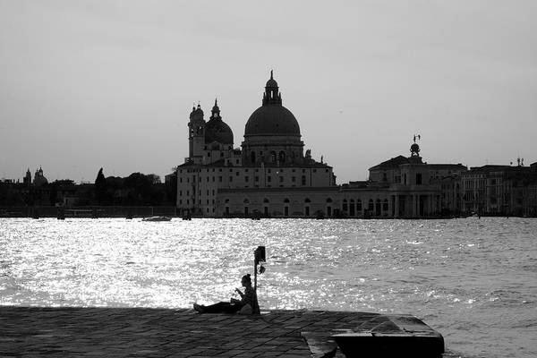 Wall Art - Photograph - Alone In Venezia by Valentino Visentini