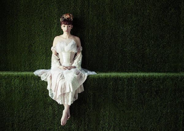 Chateau Photograph - Alone In Wonderland by Jeremie Mazenq
