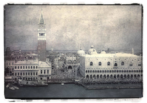 Photograph - Along St. Mark's Square by Julie Palencia