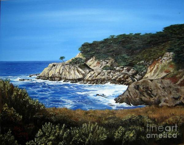 Mary Rogers Painting - Along The California Coast by Mary Rogers