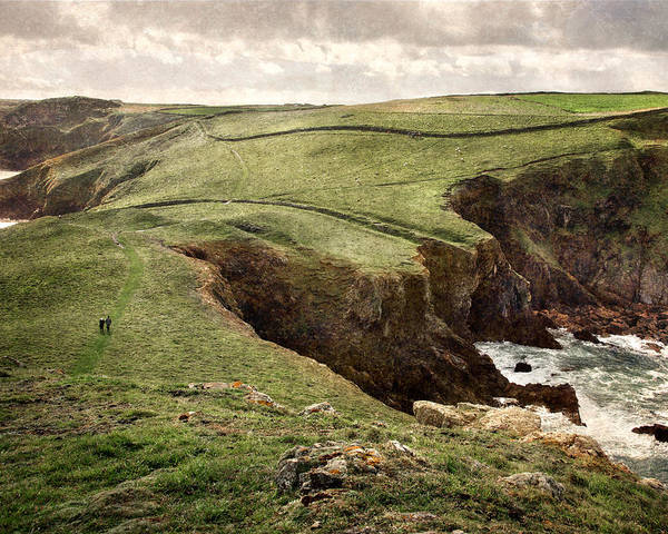 Photograph - Along The Coast Path by William Beuther