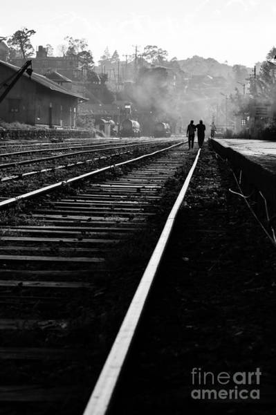 Photograph - Along The Rail Tracks by Asiandreamphoto