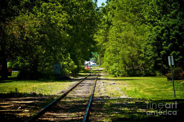 Photograph - Along The Rails by William Norton