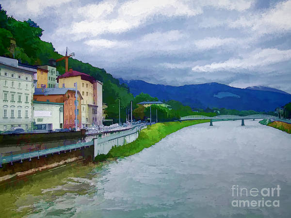 Photograph - Along The Rhine by Ken Johnson