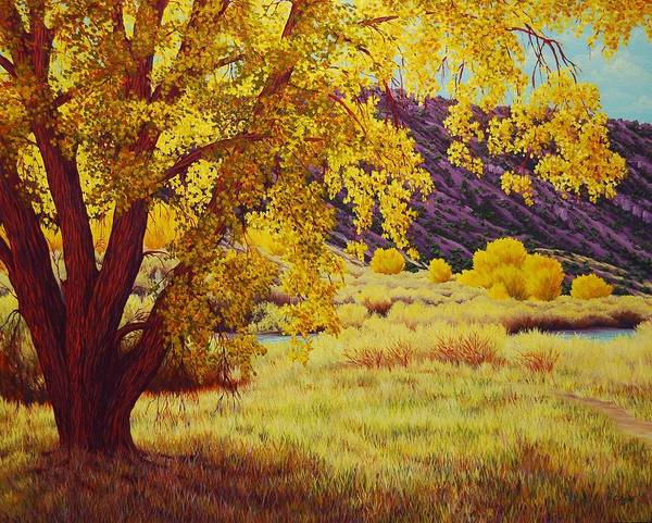 Painting - Along The Rio Grande by Cheryl Fecht
