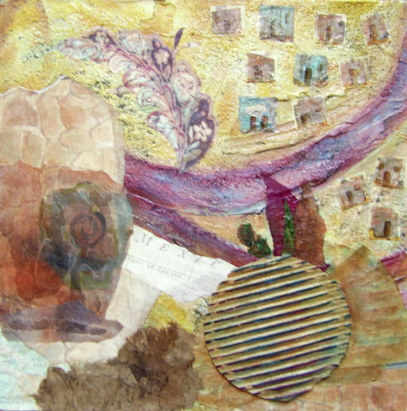 Mixed Media - Along The Rio Grande by MtnWoman Silver