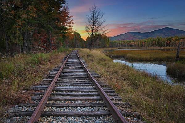 Photograph - Along The Tracks by Darylann Leonard Photography