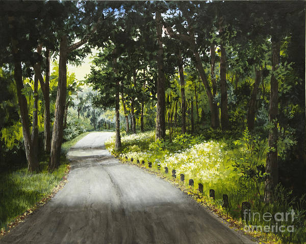 Painting - Along The Way by Mary Palmer