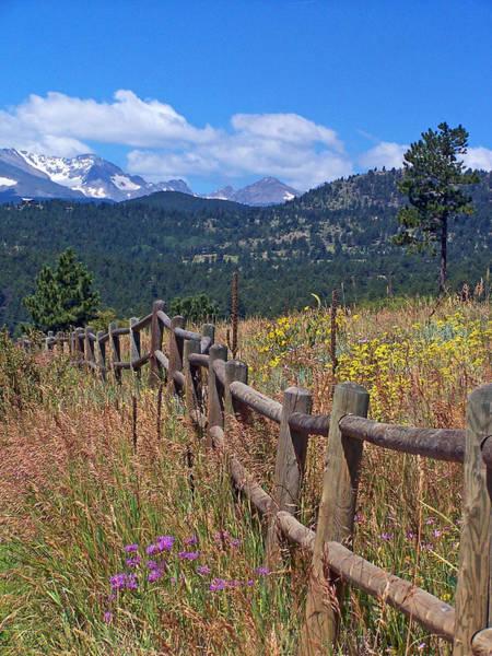 Photograph - Along The Wooden Fence by Jennifer Robin