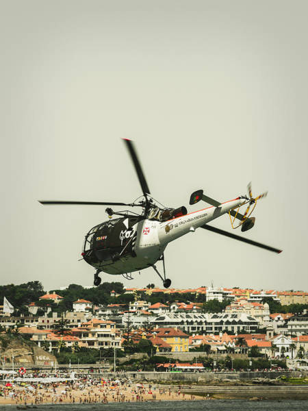 Alouette Wall Art - Photograph - Alouette IIi - Air Race Series Viii by Marco Oliveira