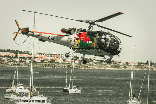 Alouette Wall Art - Photograph - Alouette IIi - Air Race Series X by Marco Oliveira