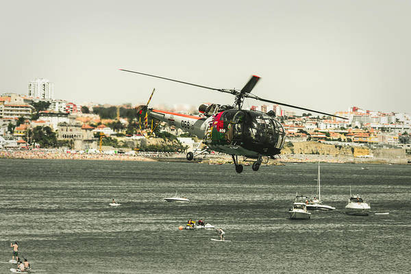 Alouette Wall Art - Photograph - Alouette IIi - Air Race Series Ix by Marco Oliveira