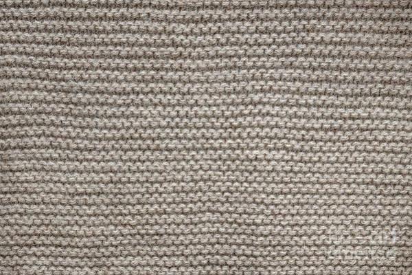 Wall Art - Photograph - Alpaca Wool Knit Texture by Elena Elisseeva