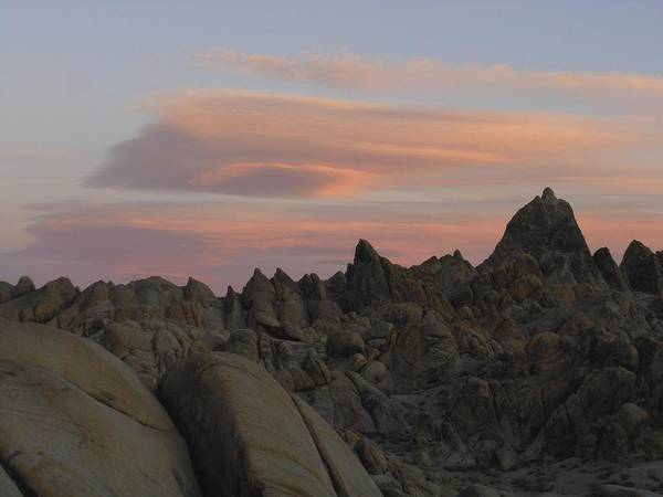 Photograph - Alpenglow And Boulders by Don Kreuter