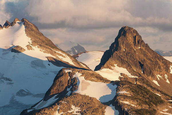 Wall Art - Photograph - Alpenglow On The Guard Mountain by Christopher Kimmel