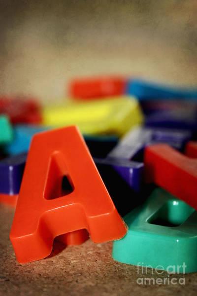 Wall Art - Photograph - Alphabet Fun by Trish Mistric