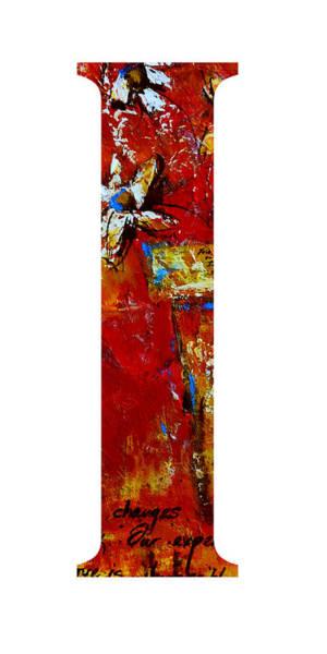 Painting - Alphabet Letter I by Patricia Awapara