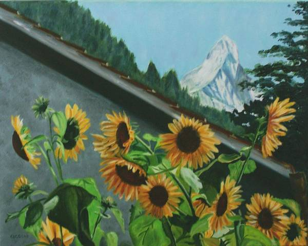 Alpine Delight Art Print