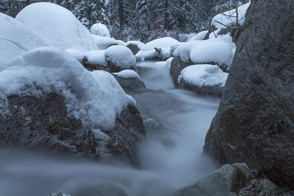 Donner Photograph - Alpine Flow by Jeremy Jensen